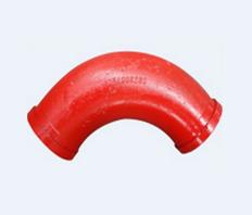 单层泵车弯管(125×R18090°)