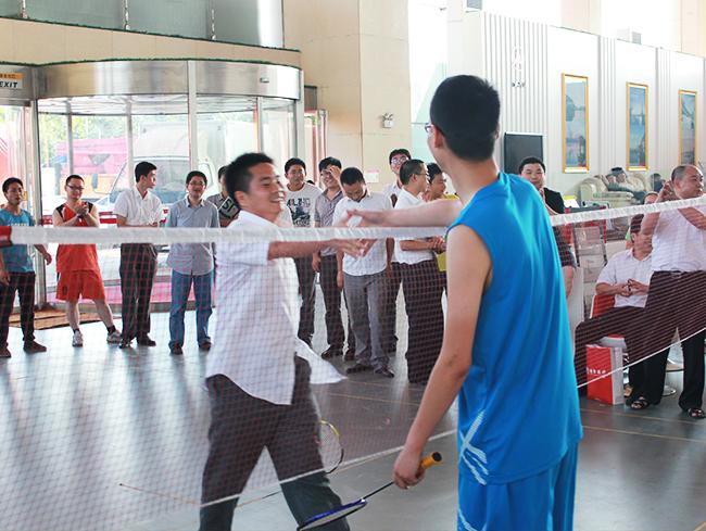 羽毛球活动