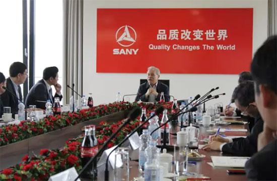 全国政协副主席王钦敏考察三一欧洲赞三一是中国骄傲